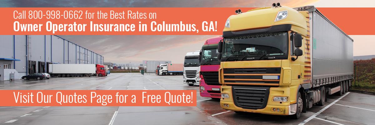 Owner Operator Insurance Columbus Ga